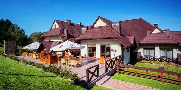 Polské hory včetně polopenze i wellness pro 2
