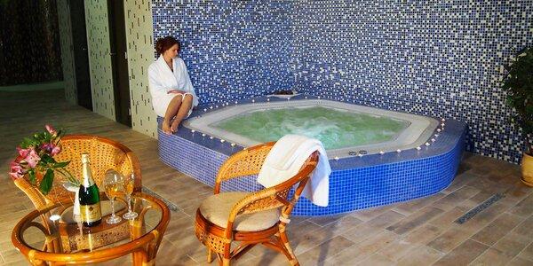 Zimní či jarní relax pro 2 s polopenzí i wellness