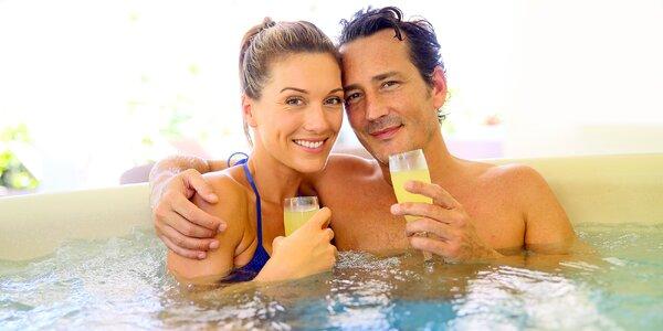 Společné lenošení pro 2 v privátním wellness