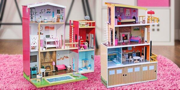 Roztomilé a opravdu velké dřevěné domečky pro princezny