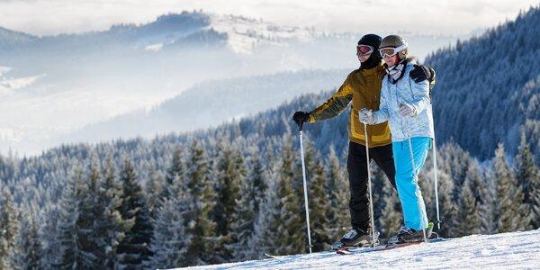 Šumava na lyžích: 3-5 dní s polopenzí pro 2