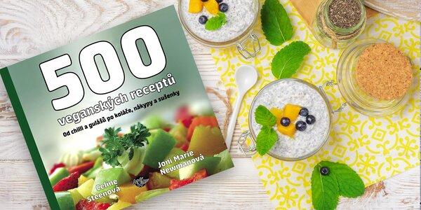 Kniha - 500 veganských receptů