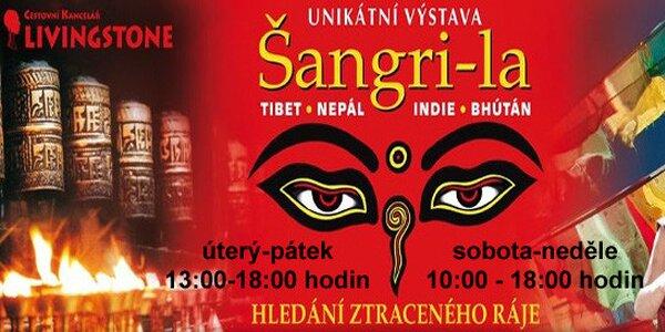 Vstup na úžasnou výstavu Šangri-la