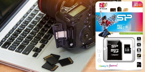Paměťové MicroSD karty o kapacitě 32, 64 a 128 GB