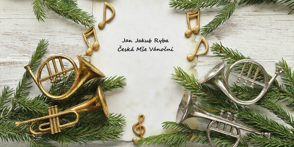 Vstup na Českou Mši Vánoční od Jana Jakuba Ryby