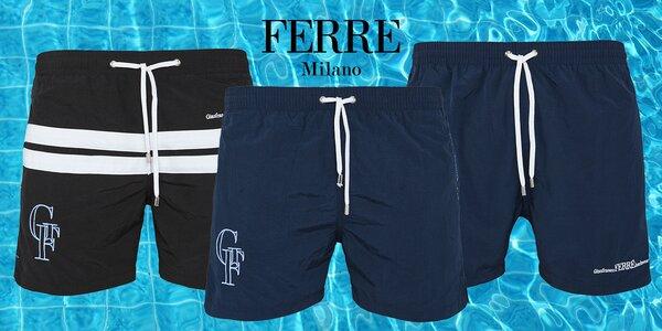 Luxusní pánské plavky nebo volnočasové šortky Ferré