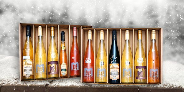 Vánoční kolekce 6 přívlastkových vín z Mikulovska