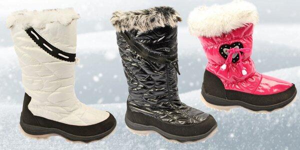Dámské zimní sněhule, které udrží nohy v teple