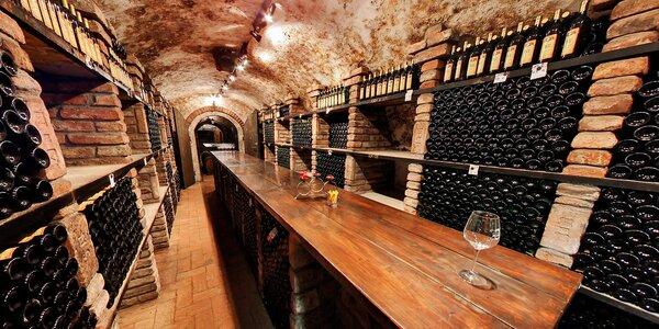 Jižní Morava s jídlem, vínem a návštěvou sklípku