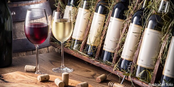 Lahev vína či Prossecca a něco na chuť