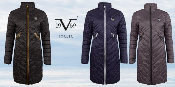 Dámské prošívané dlouhé kabáty 19V69 Italia