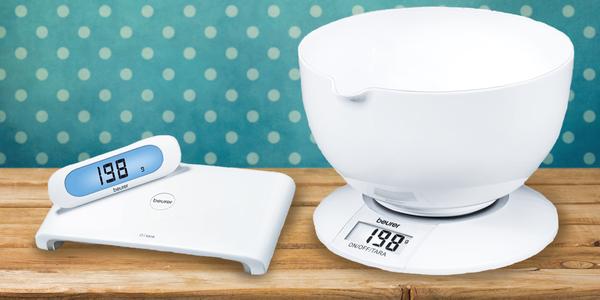 Digitální kuchyňské váhy BEURER s tříletou zárukou