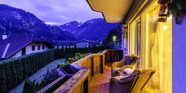Rakouské Alpy v apartmánech s českým personálem