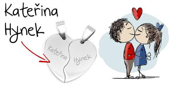 Romantická drobnost pro páry