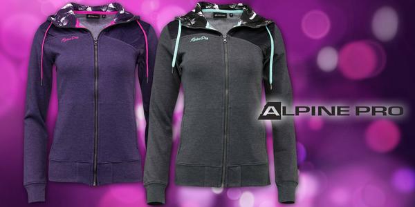Dámské mikiny Alpine Pro