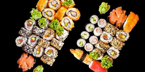 Oblíbené sushi sety: výběr ze tří možností