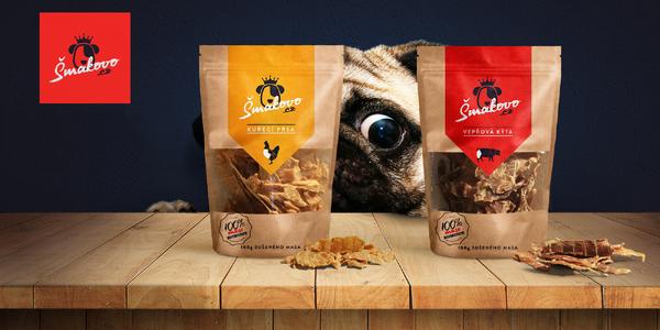 Šmakovo prémiové sušené maso pro psy a kočky