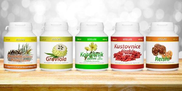 Přírodní doplňky stravy pro imunitu a energii