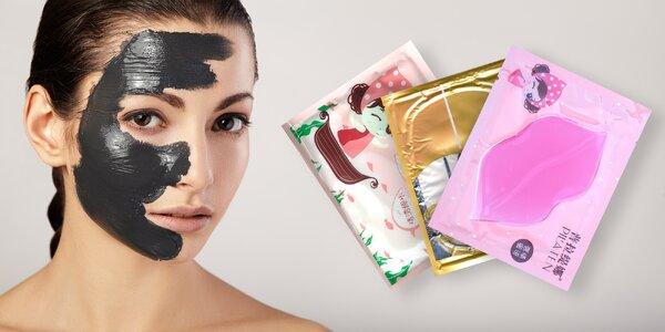 Pleťové masky Pilaten na oči, rty a obličej