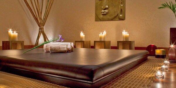 100 minut relaxace: výběr ze 4 thajských masáží vč. nápojů