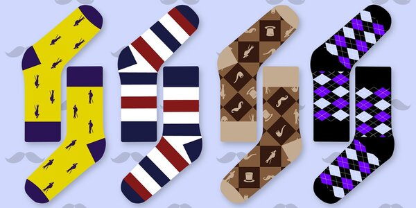 Originální ponožky českého výrobce Galant Socks
