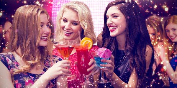 Vstup do dámského nočního klubu a míchané drinky