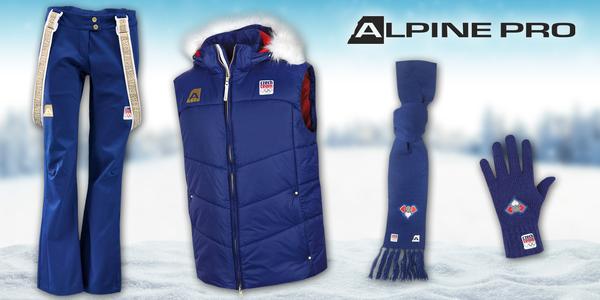 Zimní oblečení Alpine Pro Czech Team