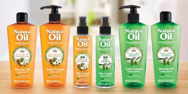 Tělová kosmetika Natura Oil s bio oleji
