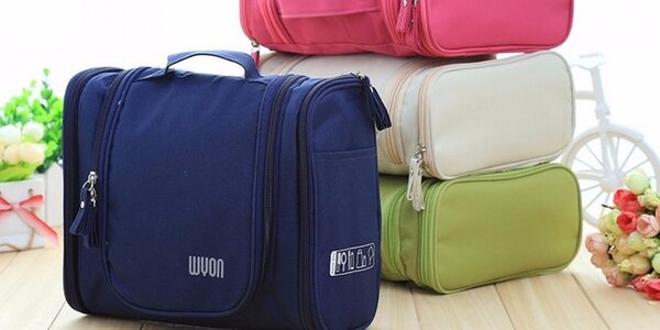 Praktické kosmetické tašky na cesty