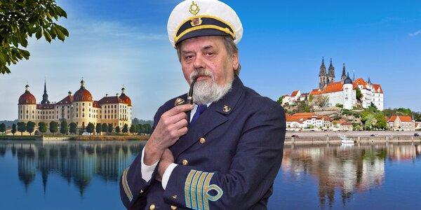 Plavba do Míšně a zastávka u Popelčina zámku