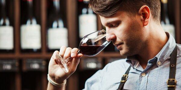 Večer s degustací exkluzivních vín včetně tapas