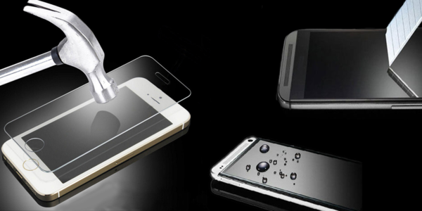 Tvrzené sklo pro 120 typů telefonů + praktický stojánek