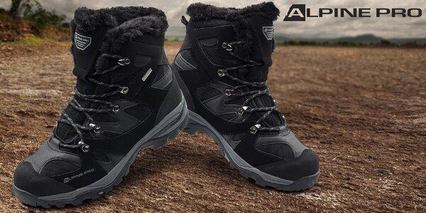 Pánská zimní obuv Alpine Pro do sněhu i mrazu