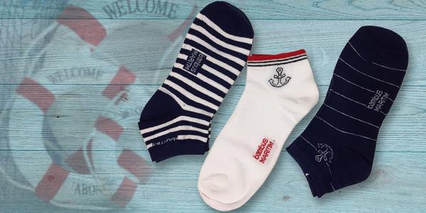 6 párů dámských bambusových ponožek