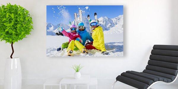 Fotoobraz na jemném nebo hrubém plátně