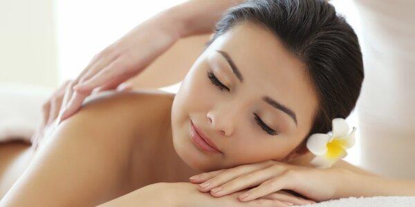 Hodinová masáž podle vašeho výběru ze 4 druhů