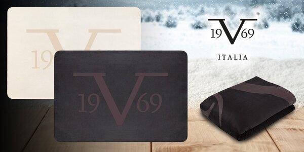 Fleecová deka prémiové značky 19V69 Italia