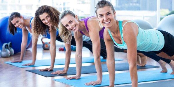 Lekce cvičení na výběr- Pilates, TRX nebo Fit slide