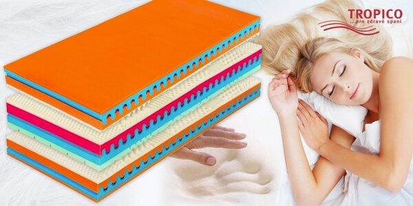 Výběr matraci Visco s vrstvou paměťové pěny