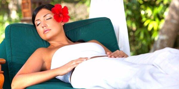 Hodinový relax pro jednoho či dva s aroma lázní