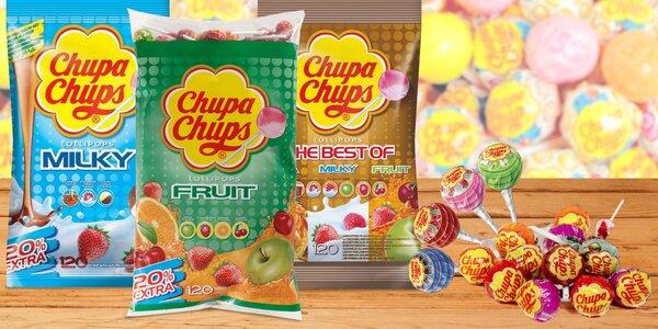 Chupa Chups: balíčky plné oblíbených lízátek