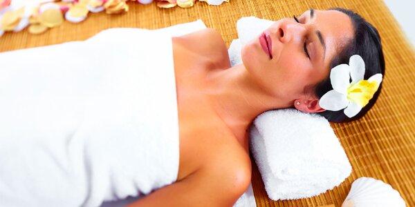 Kombinovaná masáž včetně uvolňujícího zábalu