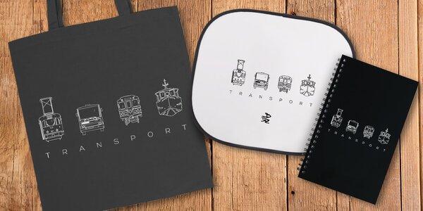 Podpořte Klokánek: orig. taška, blok či stínítko