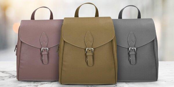 Elegantní městské dámské batohy