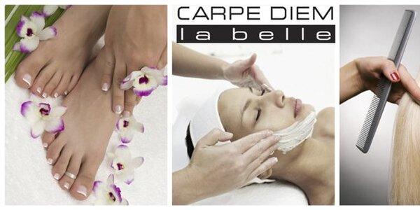 249 Kč za zkrášlující služby salonu Carpe Diem la belle v hodnotě 500 Kč.