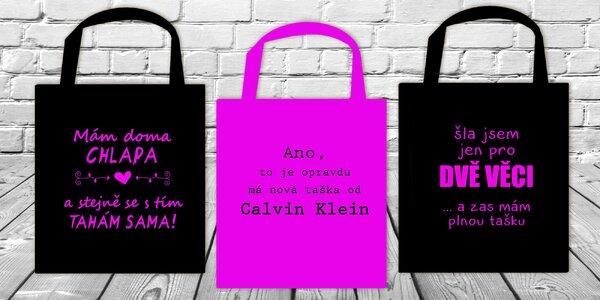 Nakupujte s vtipnou taškou!