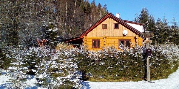 Ubytování ve srubu u lesa až pro 10 osob