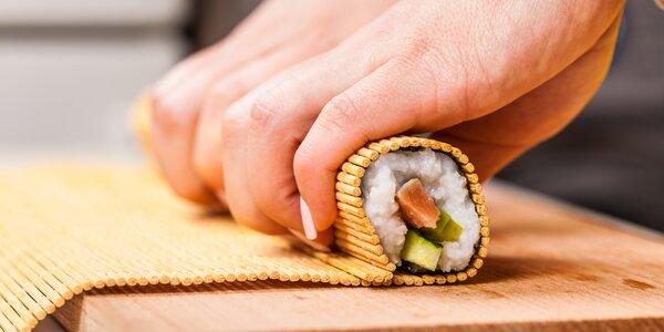 Chuť Japonska: 5hodinový kurz přípravy sushi