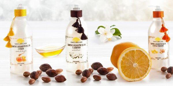 Kosmetika z arganového oleje z Maroka