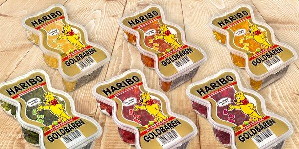 450 g Haribo medvídků v praktické dóze
